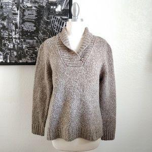 *New listing* L.L Bean Brown Wool Blend Sweater